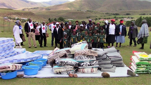 65 OVCs RECEIVES DONATIONS FROM NEDBANK