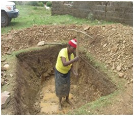 70 YEAR OLD WOMAN DIGS A TOILET PIT