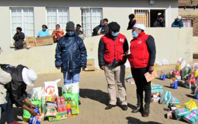 ORPHANS GET FOOD ITEMS