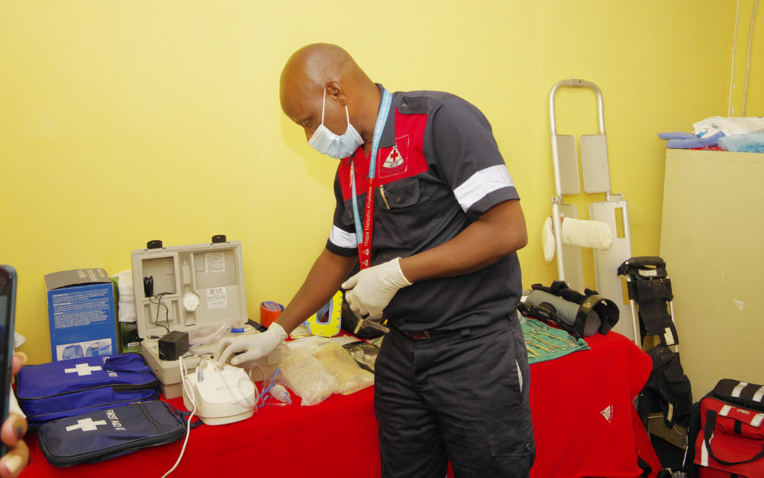 LRCS AMBUMANCE SERVICE ACCREDITED BY SOUTHERN AFRICAN BODY