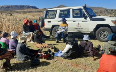 Lesotho Red Cross contributing towards  a paradigm shift in hummanitarian Assistances