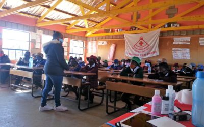 Red Cross assist 6 Butha Buthe Primary Schools with WASH equipment and Vegetable Gardens